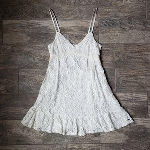 Hollister Cream Off White Lace Dress Bridal Shower